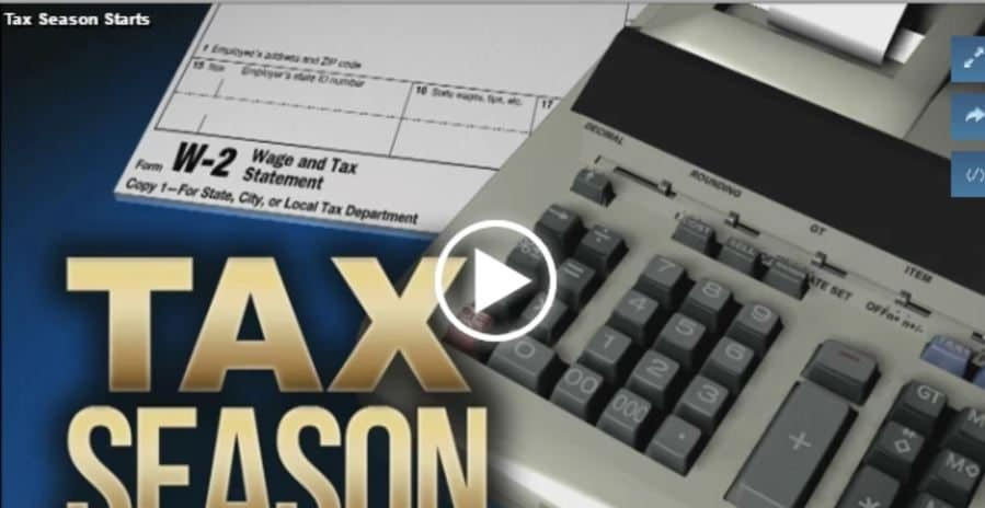 porter kinney video tax season starts